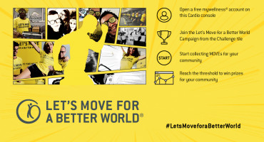 Image for post - Join The Let's Move Challenge